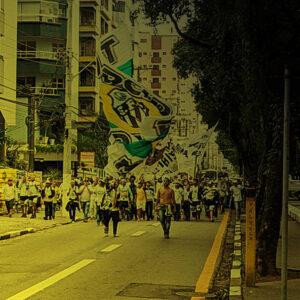 Torcida Jovem em Santos