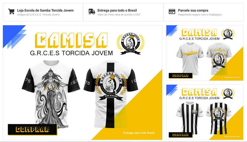 Loja Escola de Samba Torcida Jovem do Santos FC